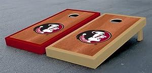 Florida State FSU Seminoles Cornhole Game Set Rosewood Stained Version by Gameday Cornhole