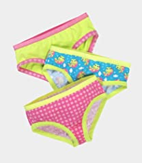 Fruit of the Loom Girls' 3pk Fresh Cotton Stretch Hipster