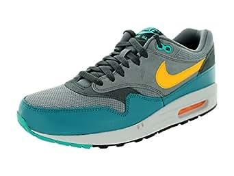 Nike Men's Air Max 1 Essential Cool Grey/Laser Orange/Ctln Running Shoe 7.5 Men US