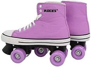 Roces Classic Roller quad loisir mixte enfant Mauve 38