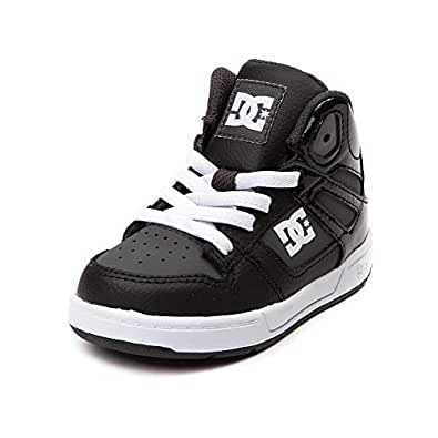 DC Shoes Toddler Hi Top Rebound Boys Sneakers