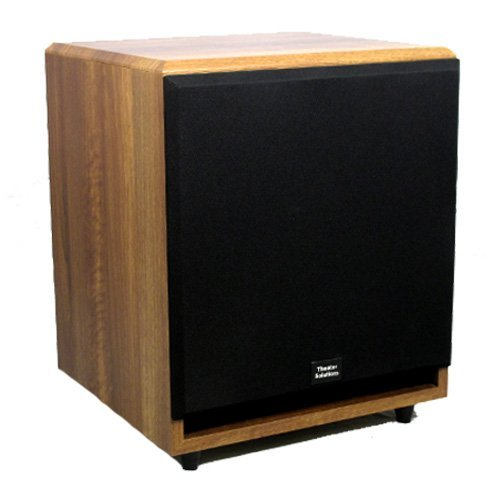 Theater Solutions Sub15Fm Front Firing Powered Subwoofer (Mahogany)
