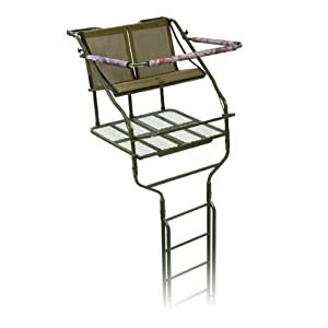 Millennium Men's Double Ladder Stand, 18-Feet