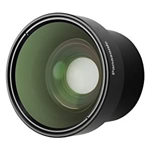 Panasonic VW-W3707H Wide Conversion Lens for Panasonic Camcorder (Black)