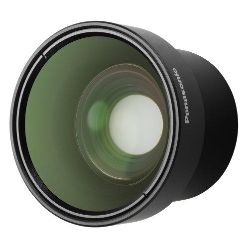 Panasonic VW-W3707H Wide Conversion Lens for Panasonic Camcorder (Black)