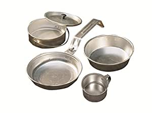 Coleman 5-Piece Aluminum Mess Kit