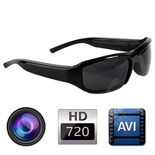 Provenice HD 720P SPY DVR Camera Camcorder Eyewear Sunglasses Hidden Video Recorder DV CAM (Spy Electronics compare prices)