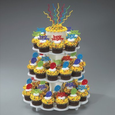 Sweet Server Styrofoam Cupcake Stand