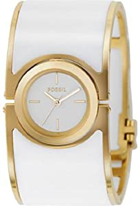 Fossil Dress Collection Lucy White Enamel White Dial Women's watch #ES2528