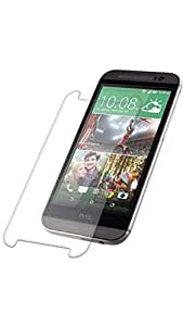 SNOOGG HTC Desire 526G Plus (Glacier Blue)Full Body Tempered Glass Screen Protector [ Full Body Edge to Edge ] [ Anti Scratch ] [ 2.5D Round Edge] [HD View] - White