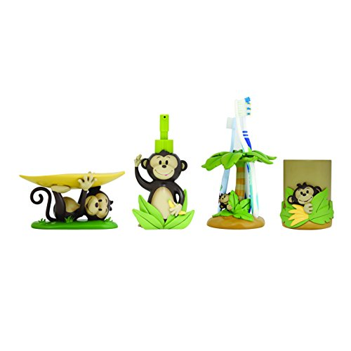 Bathroom Accessories Set - Monkey