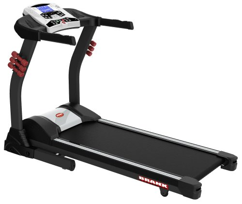 Branx Fitness Foldable 'Elite Runner Pro' Treadmill - 23km/h - 6hp - 0-22% Auto incline - Body Fat Readout - Free Twister Included
