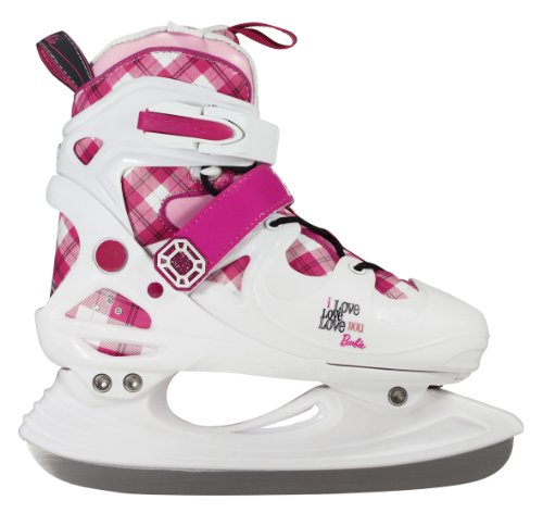 Barbie Winter Love Girls Ice Skate - White / Pink, Size 38-42