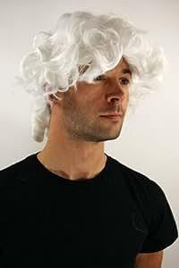 Party/Fancy Dress/Halloween WIG men women unisex WHITE platinumk blond baroque LORD JUDGE prince duke aristocrat PIRATE PW0173-P60