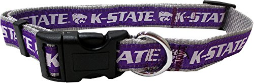 Pets First Collegiate Kansas State Wildcats Pet Collar, Small
