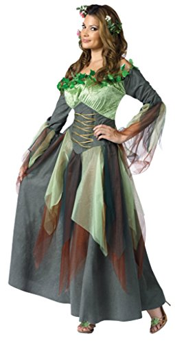 Funworld Womens Sexy Mother Nature Earth Fairy Fancy Halloween Themed Costume