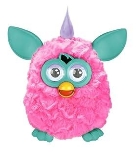 Furby mohicano rosa - Mascota electrónica (habla español) (Hasbro A3120500)