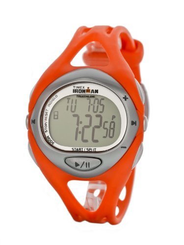 Timex I Control for iPod Unisex 50 Lap Orange Resin Strap Watch - T5K057Y7