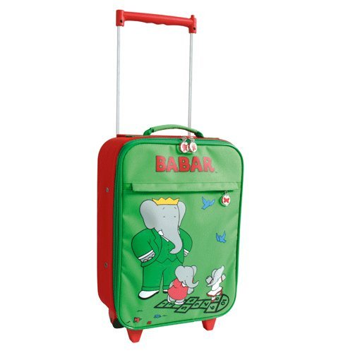 Elefant Babar Trolley Kinderkoffer