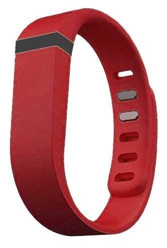 Replacement Wrist Band for Fitbit Flex (Deep Red, Small)