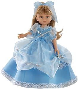 "Amazon.com: Paola Reina Las Amigas Carla Blue Princess 12.5"" Doll"