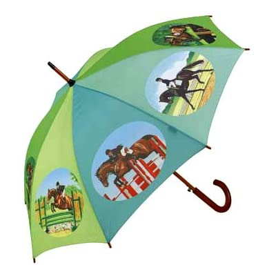 Gorgeous Horse Eventing Umbrella Rain Or Shine