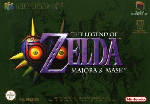 Legend Of Zelda Majora's Mask on N64