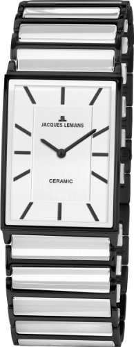 Jacques Lemans Women's 1-1594C York Classic Analog with HighTech Ceramic and Sapphire Glass Coating Watch