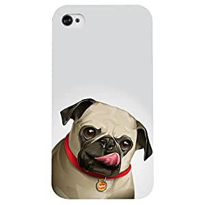I phone 4/4s My Dog Story Printed back cover