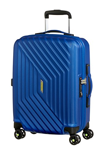 American Tourister Air Force 1 Spinner 55/20 Bagaglio a Mano, Policarbonato, Insignia Blue, 34 litri, 55 cm