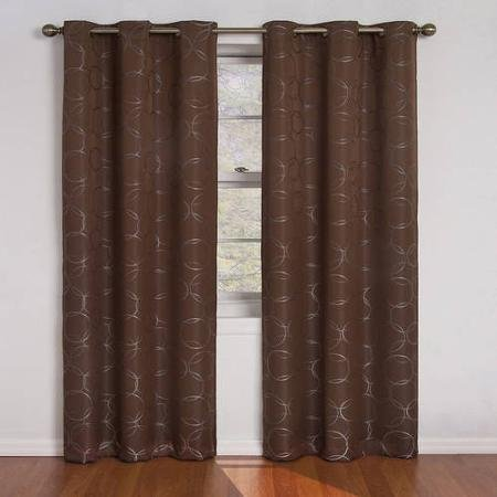Eclipse 42x63, Chocolate,zodiac Energy-efficient Curtain Panel, Blocks Light, Reduces Noise and Saves Energy (Eclipse Blackout Panel Zodiac compare prices)