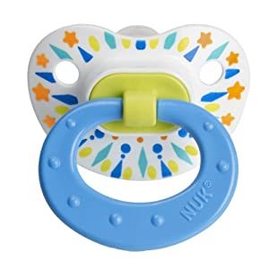 nuk orthodontic silicone pacifier bundle pack