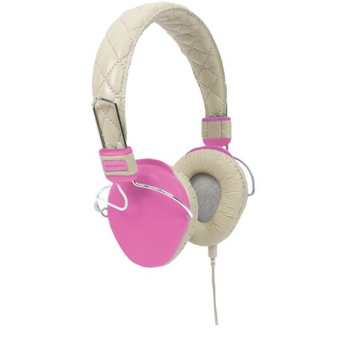 Awm Pink Amplitone Headphones By Crosley Radio Cr9005A-Pi
