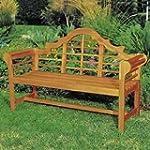 Achla Designs 4-Foot Lutyen Bench, Na...