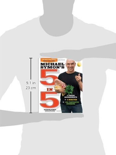 Free Pdf Michael Symon's 5 in 5: 5 Fresh Ingredients + 5 Minutes = 120 Fantastic Dinners by Brand: Clarkson Potter