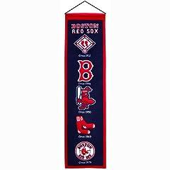 Buy Winning Streak Boston Red Sox MLB Heritage Banner (8x32) WSS-46001 by Winning Streak