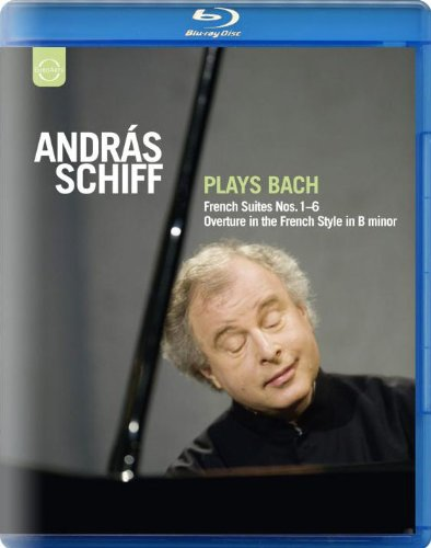 J.S.バッハ : フランス組曲全集 (Andras Schiff Plays Bach ~ French Suites Nos. 1-6 Overture in the French Style in B minor) [Blu-ray] [輸入盤・日本語解説書付]