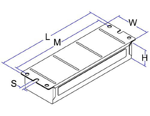 Robertson 3M10235 Is275P1105 /C Mballast, Hpf, 110/50 (2) F72T12 V2
