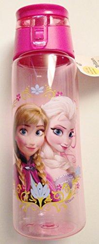 Disney Frozen Elsa & Anna Water Bottle ~ 25 Oz ~ New Design ~ Zak