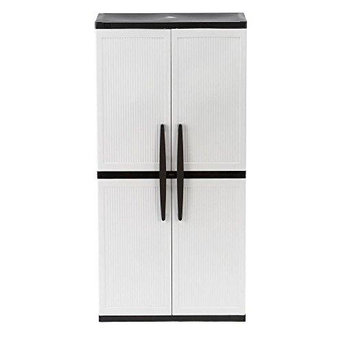 hdx-35-in-w-4-shelf-plastic-multi-purpose-tall-cabinet-in-gray