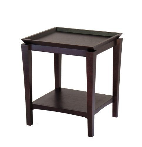 Buy Low Price Winsome Liso Corner End Table Wn1380
