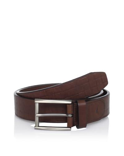 TOMMY BAHAMA Men's Embossed Woven Belt