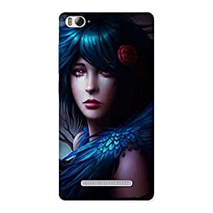 Gorgeous Crossed Angel Multicolor Back Case Cover for Xiaomi Mi4i