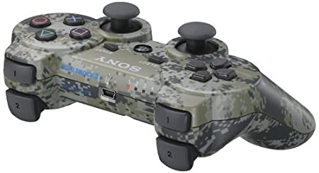 PS3 DualShock 3 Controller - Urban Camouflage