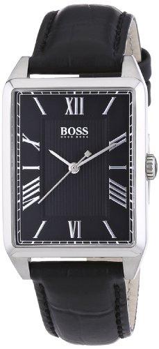 Hugo Boss 1502257 - Reloj analógico de cuarzo para mujer con correa de piel, color negro