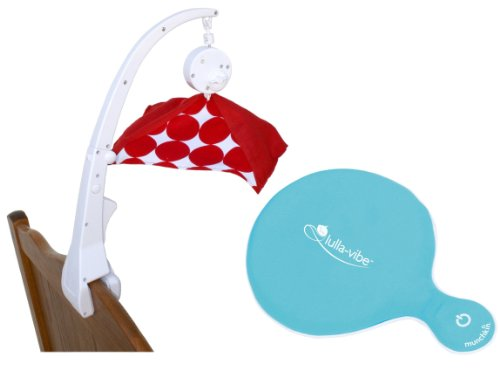 Crib Mobile Attachment Clamp With Vibrating Mattress Pad