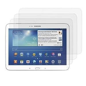 3x film de protection pour écran Samsung Galaxy Tab 3 10.1 P5200 / P5210 / P5220 TRANSPARENT. Qualité supérieure signée kwmobile
