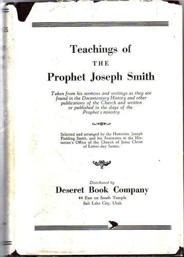 Teachings of the Prophet Joseph Smith, JOSEPH FIELDING SMITH