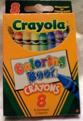Crayola Coloring Book Crayons (8 Count)
