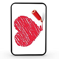 Artis 5000mah Slim Power Bank - Heart